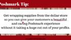 Poshmark Tip Dollar Store Packaging