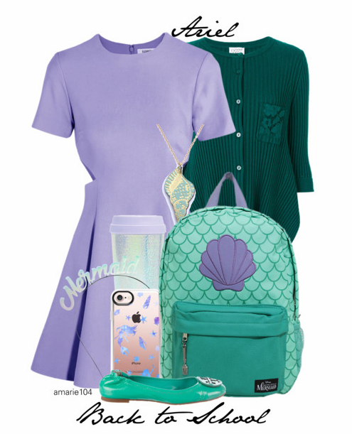 Ariel Back to School Outfit on Polyvore by Amarie104