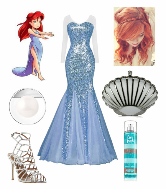Ariel Glamorous Prom Dress Re-Interpretation on Polyvore by Mikayla-Burgess