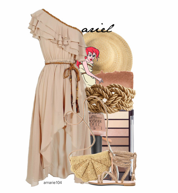 Ariel Sail Dress on Polyvore by Amarie104
