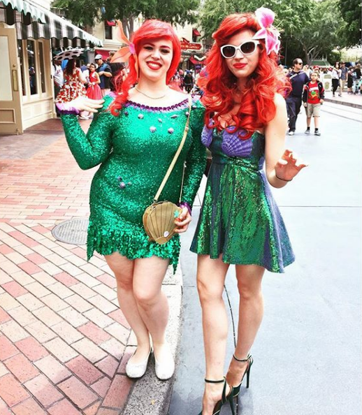 Glamorous Ariel Outfits on Instagram by HollandTayoeGedney