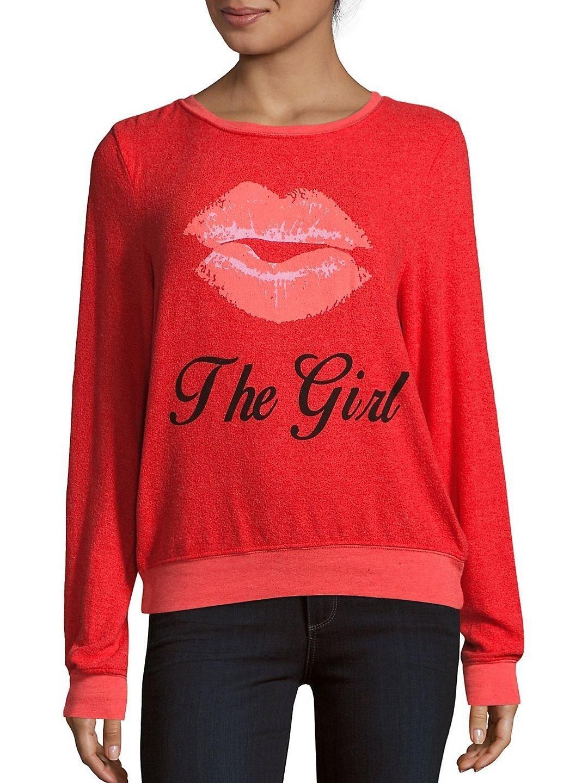 Kiss The Girl Wildfox Sweater