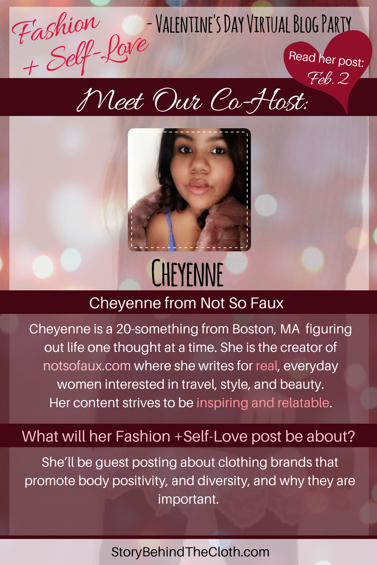 2. Introducing Our Co Host Cheyenne Fashion Self Love Valentines Day Blog Party.