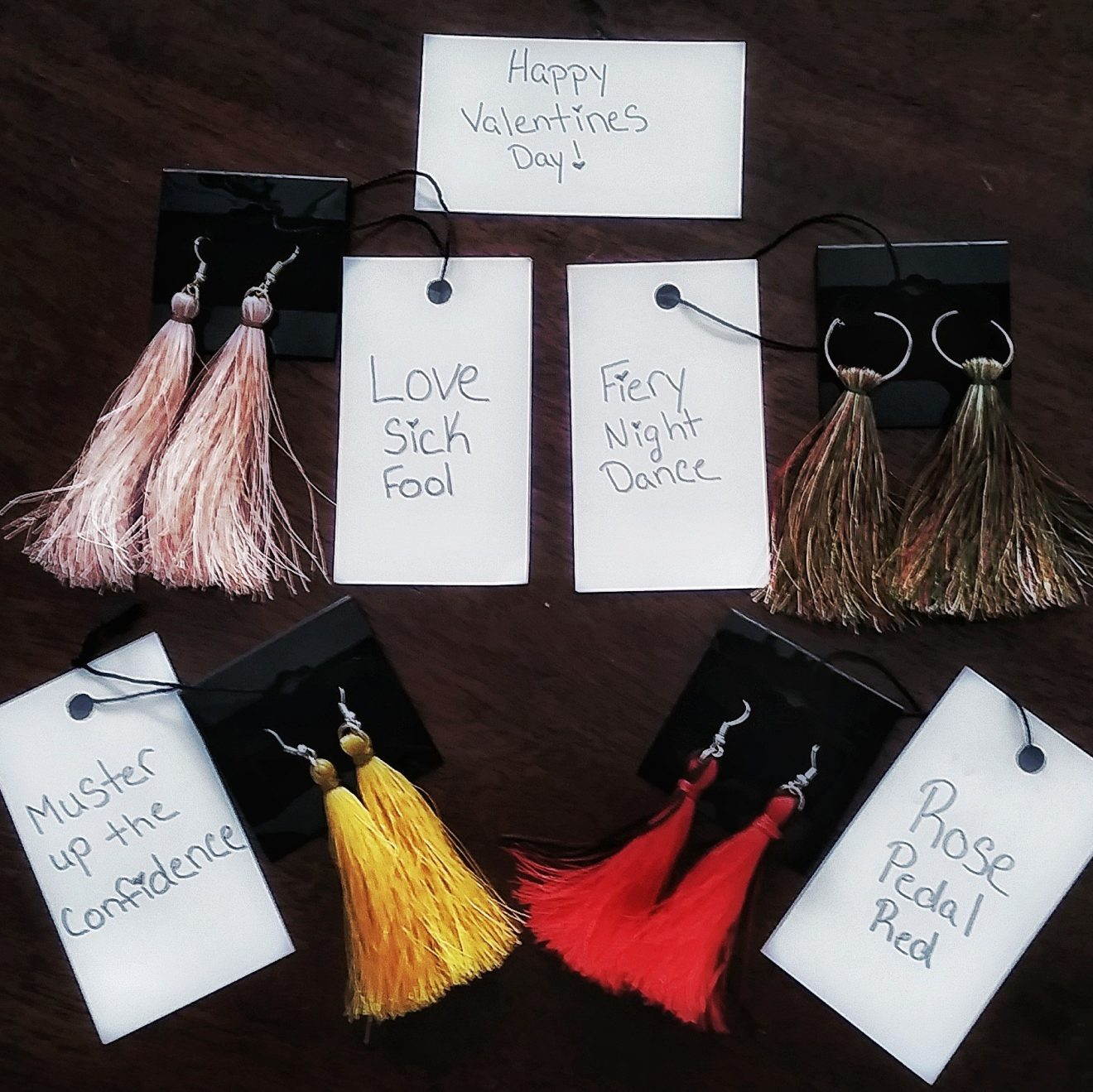 Fashion Self Love Valentines Party Giveaway Thavin   Marcob Handcrafted Tassel Earrings 2