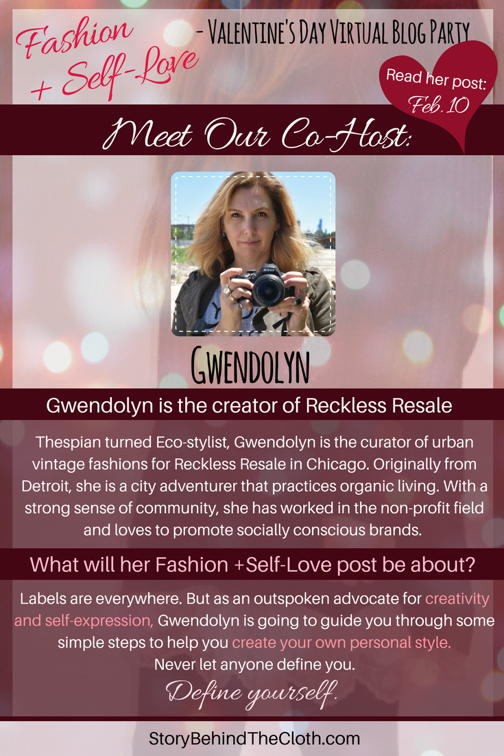 10. Introducing Our Co Host Gwen Fashion Self Love Valentines Day Blog Party.