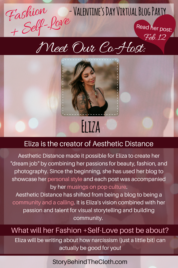12. Introducing Our Co Host Eliza Fashion Self Love Valentines Day Blog Party.