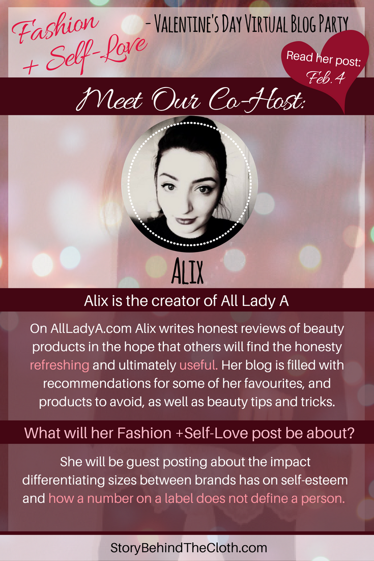 4. Introducing Our Co Host Alix Fashion Self Love Valentines Day Blog Party.