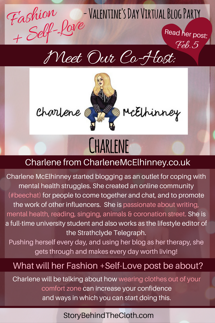 5. Introducing Our Co Host Charlene Fashion Self Love Valentines Day Blog Party.