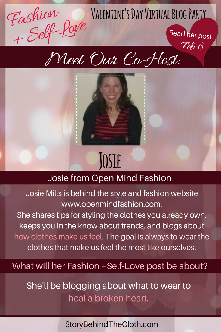 6.1 Introducing Our Co Host Josie Fashion Self Love Valentines Day Blog Party.