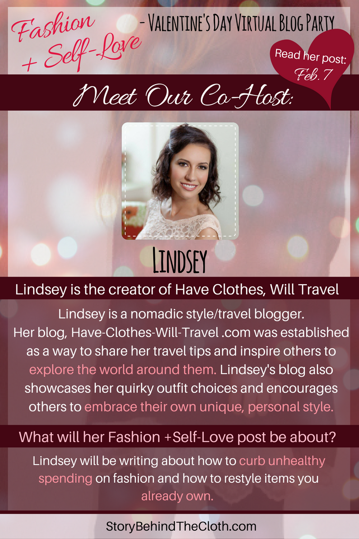 7. Introducing Our Co Host Lindsey Fashion Self Love Valentines Day Blog Party.