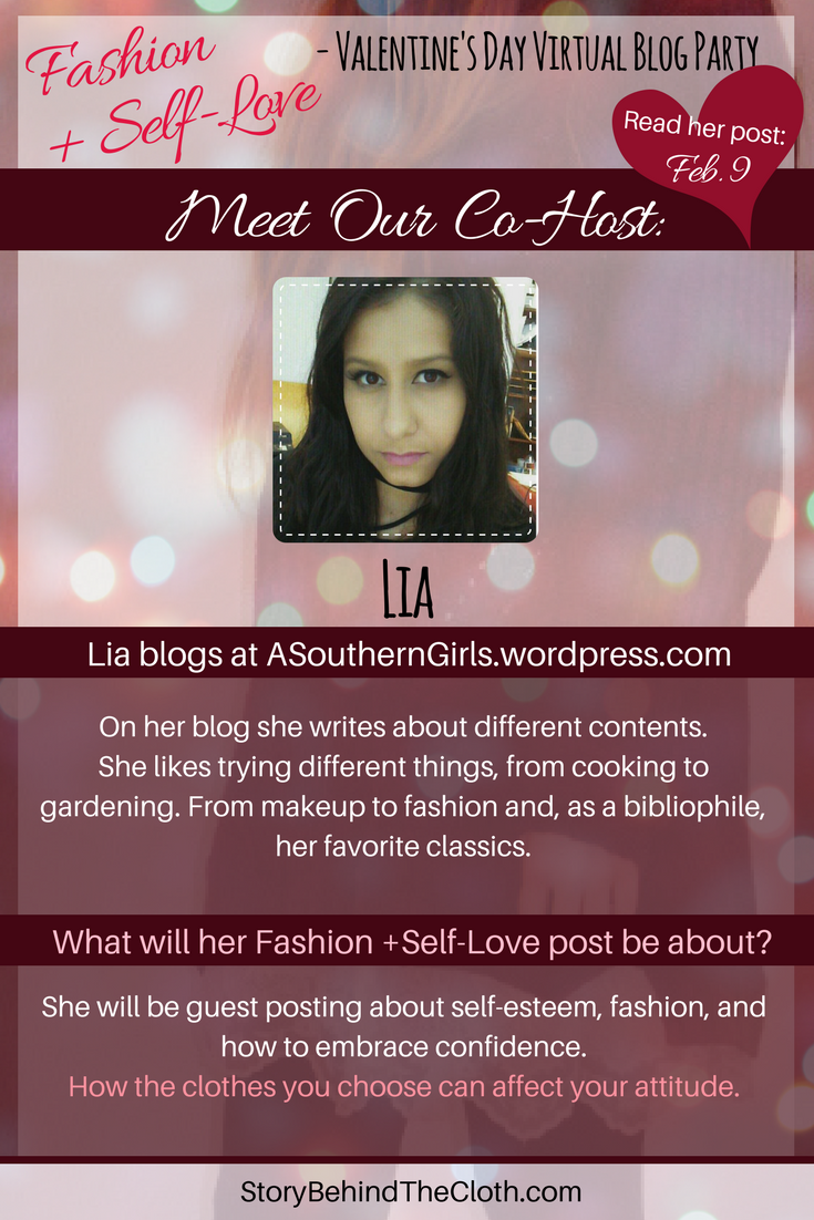 9. Introducing Our Co Host Lia Fashion Self Love Valentines Day Blog Party.