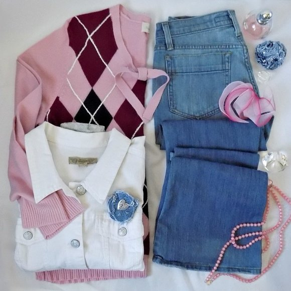 Gwen Poshmark Reckless Resale Romance Pink Vintage Collection Joes Jeans 9 West