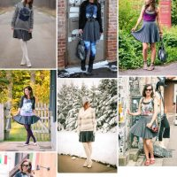 Outfit Remix – 1 Pleated Skirt Styled 7 Ways Lindsey Have Clothes Will Travel