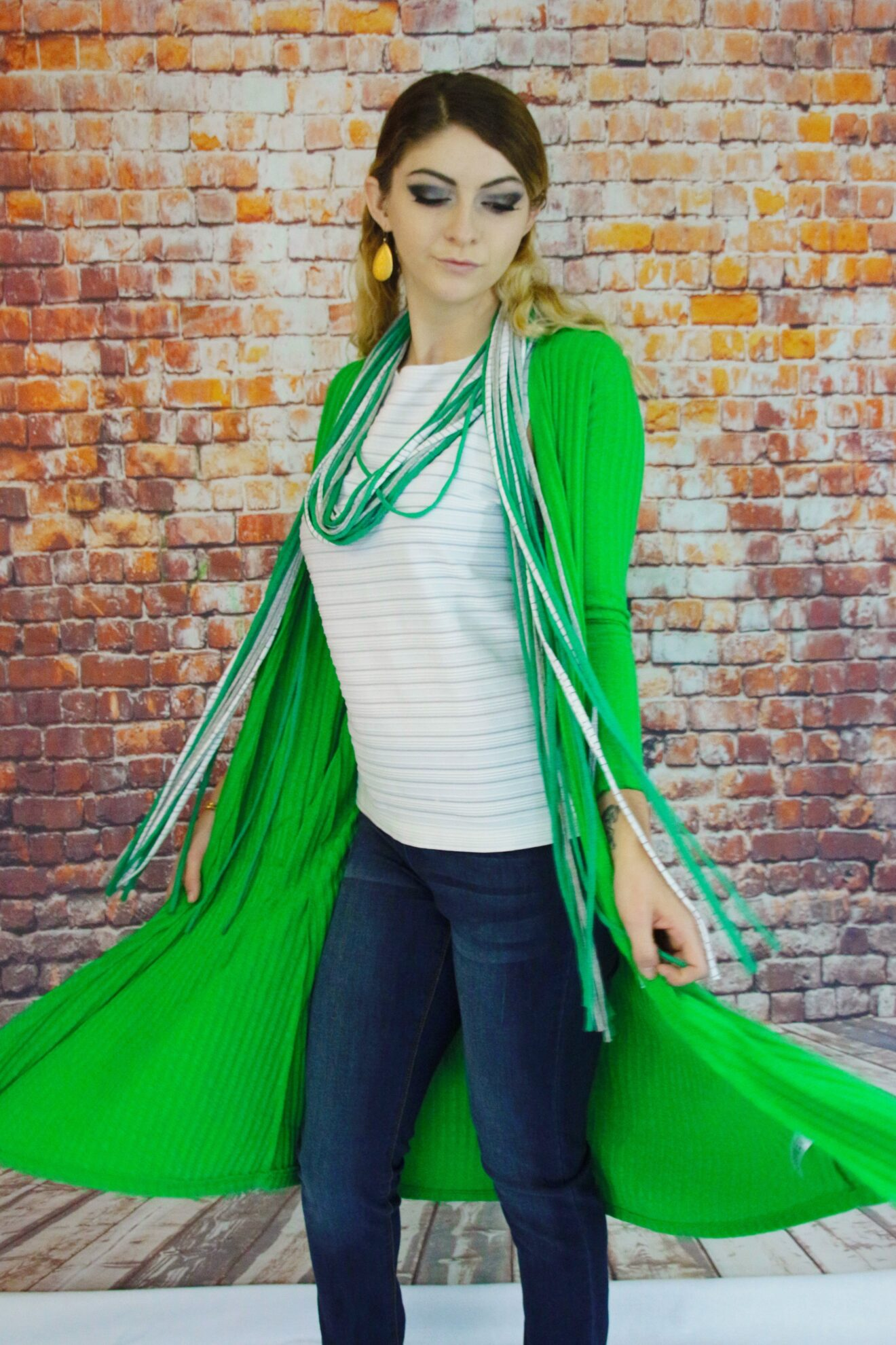 Style Story Interview Reckless Resale Gwen Bielicki Model Christy Alisa Photographer Masterpiece Chicago Saint Patricks Day 1