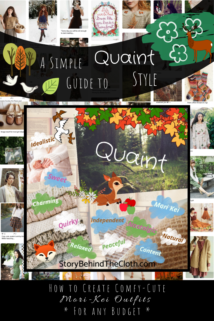 A Simple Guide to Creating Your Quaint Style How to Create Comfy Cute Mori Kei Outfits 1