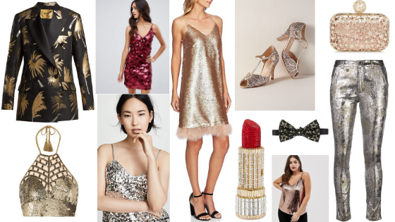 Glamorous Style Guide  Embrace All That Glitters