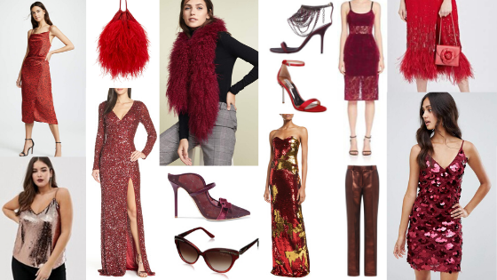Glamorous Style Guide Dramatic Red
