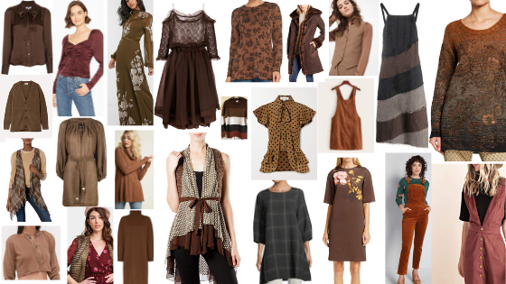 Quaint Style Guide Dark Foresty Neutral Colors