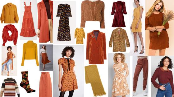 Quaint Style Guide Warm Autumn Colors 1