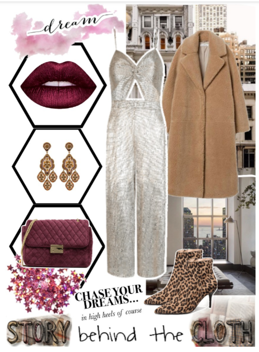 Combyne Polyvore Style Fashion Style Collage City of Dreams Chic Responsible Glamorous Outfit