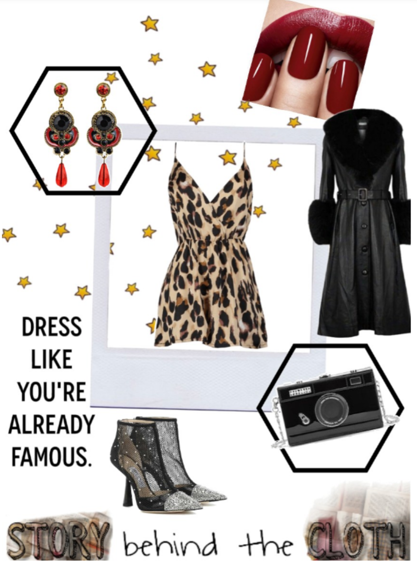 Combyne Polyvore Style Fashion Style Collage Paparazzi Please Bold Headstrong Glamorous Outfit