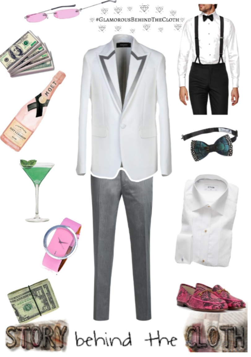 Combyne Polyvore Style Fashion Style Collage Peacocking Fabulous Glamorous Menswear Outfit