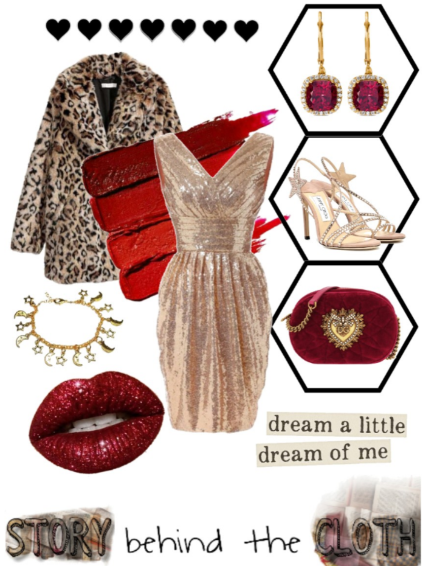 Combyne Polyvore Style Fashion Style Collage Regal Glamorous Outfit