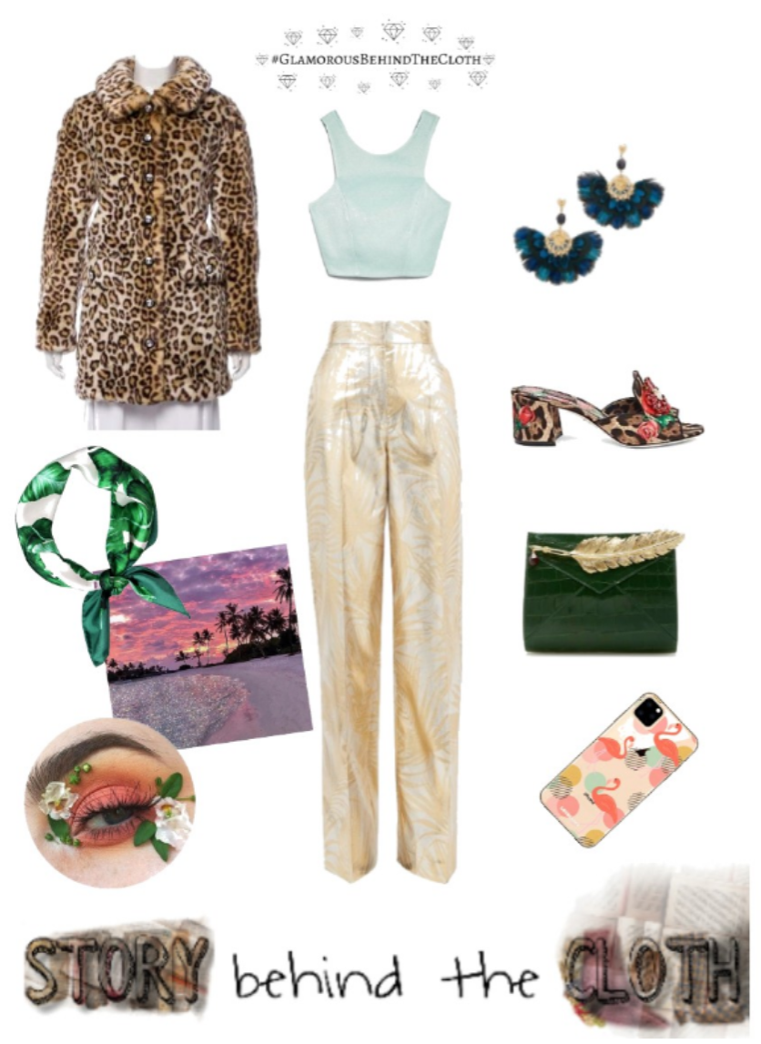 Combyne Polyvore Style Fashion Style Collage Wild Paradise Leisurely Glamorous Outfit