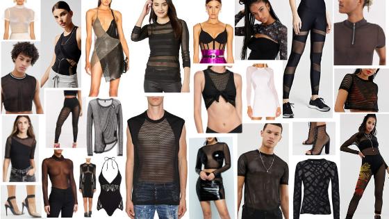 Kick Ass Style Guide Bold but Vulnerable Sheer Fabrics
