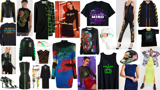 Kick Ass Style Guide Bright Bold Neon Colors