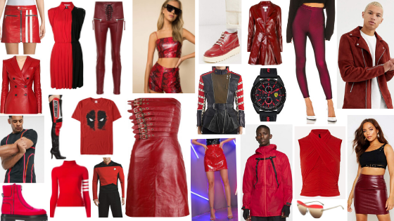Kick Ass Style Guide Passionate Powerful Killer Red Colors