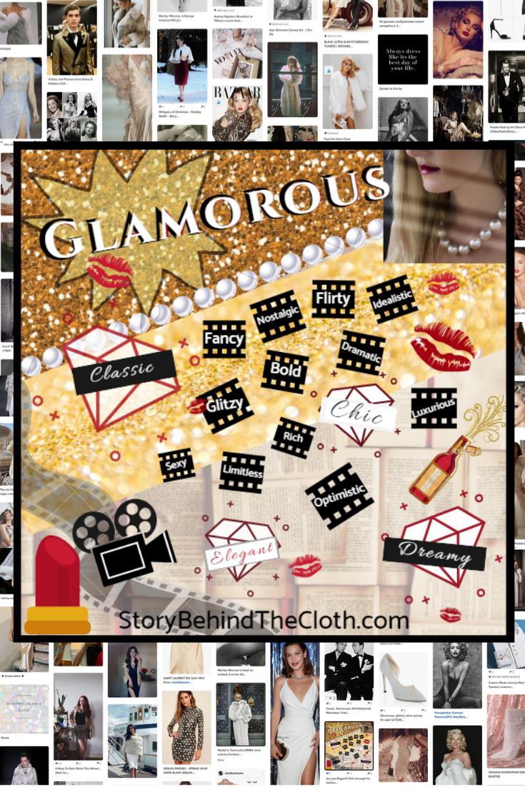 Glamorous style personality traits