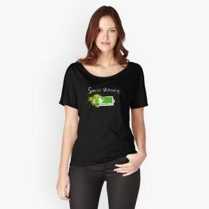 redbubble social distancing relaxed fit t shirt