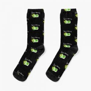 redbubble social distancing socks