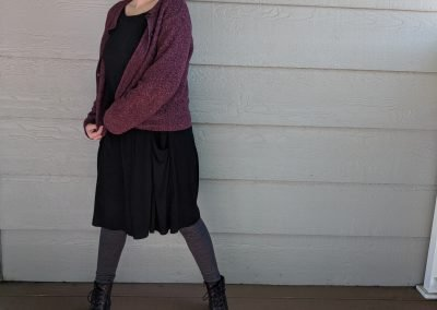 Accepting Weakness is Strength Alissa Ackerman Story Behind The Cloth fashion blog Dark Mori Kei Playful Witchy Gothic Outfit Queen of Darkness and Light 8