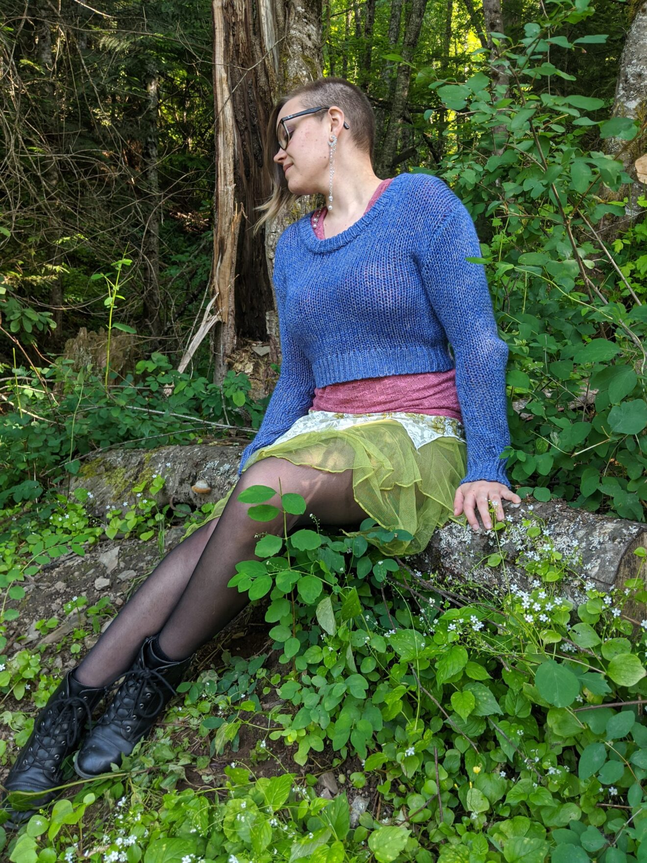 The Power and Magic of Connecting with Emotion Alissa Ackerman Story Behind The Cloth fashion blog whimsical colorful playful witchy fairy outfit 1 scaled