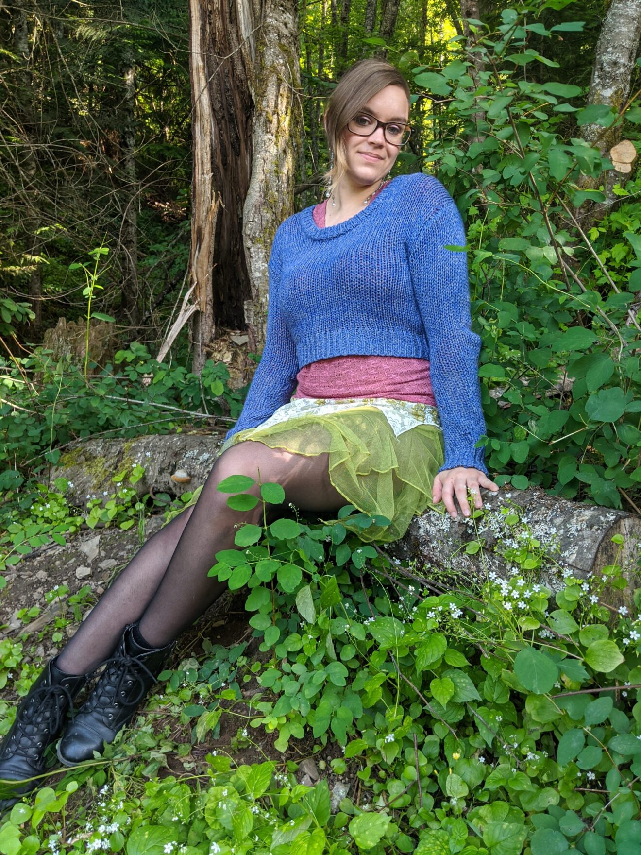 The Power and Magic of Connecting with Emotion Alissa Ackerman Story Behind The Cloth fashion blog whimsical colorful playful witchy fairy outfit 4 scaled