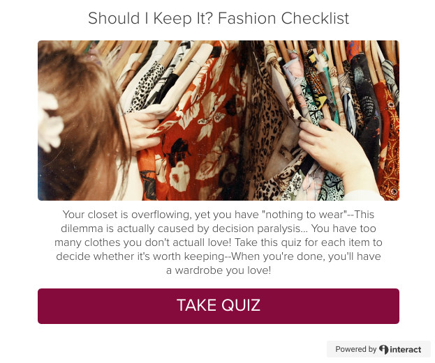 Should I Keep It? Closet Decluttering Checklist and Quiz