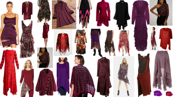 Witchy Style Guide Powerful Magical Red and Purple Colors