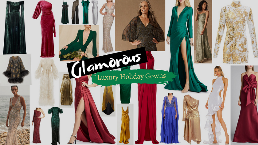 Glamorous Luxury Holiday Gowns That are Worth the Expense