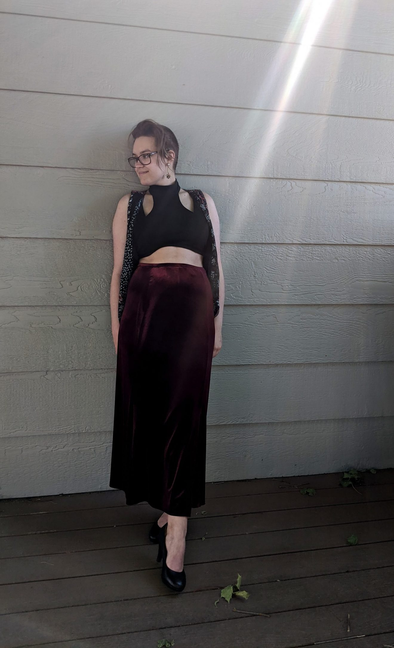 I Feared Waking Up Alissa Ackerman Story Behind The Cloth fashion blog vintage antique witchy bohemian outfit 11 scaled