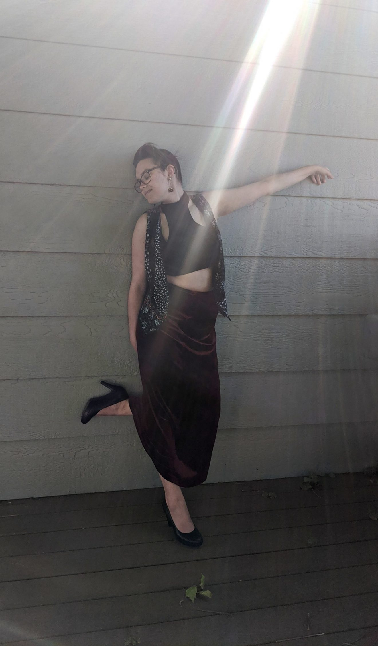 I Feared Waking Up Alissa Ackerman Story Behind The Cloth fashion blog vintage antique witchy bohemian outfit 17 scaled