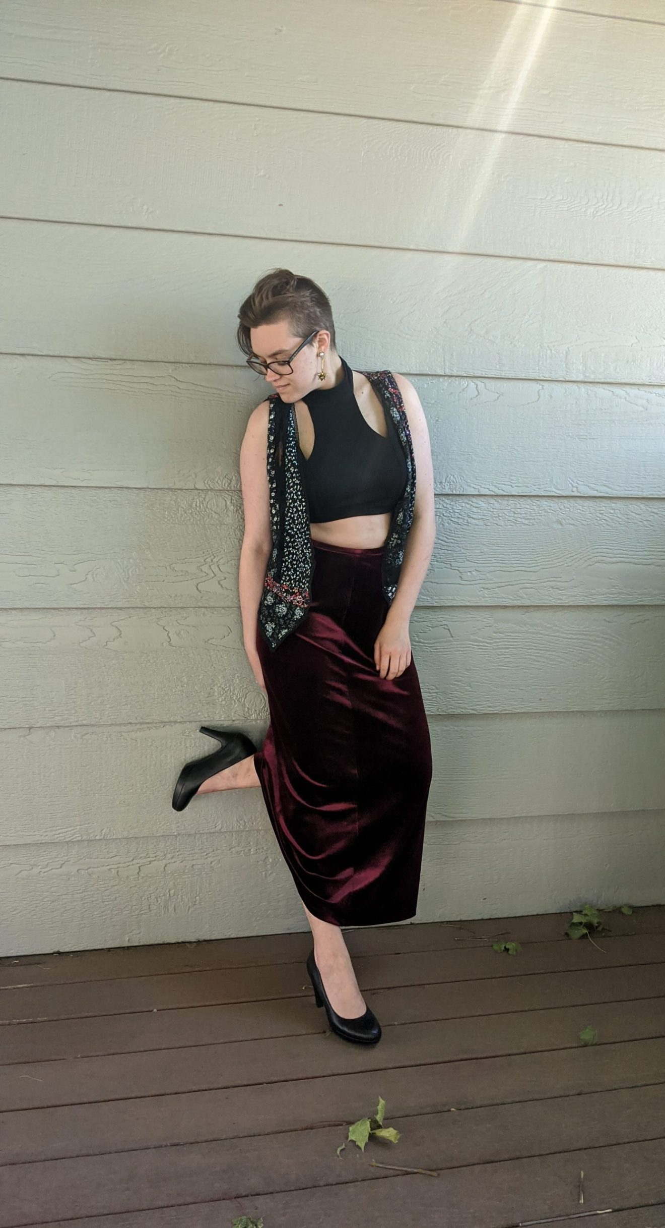I Feared Waking Up Alissa Ackerman Story Behind The Cloth fashion blog vintage antique witchy bohemian outfit 35 scaled