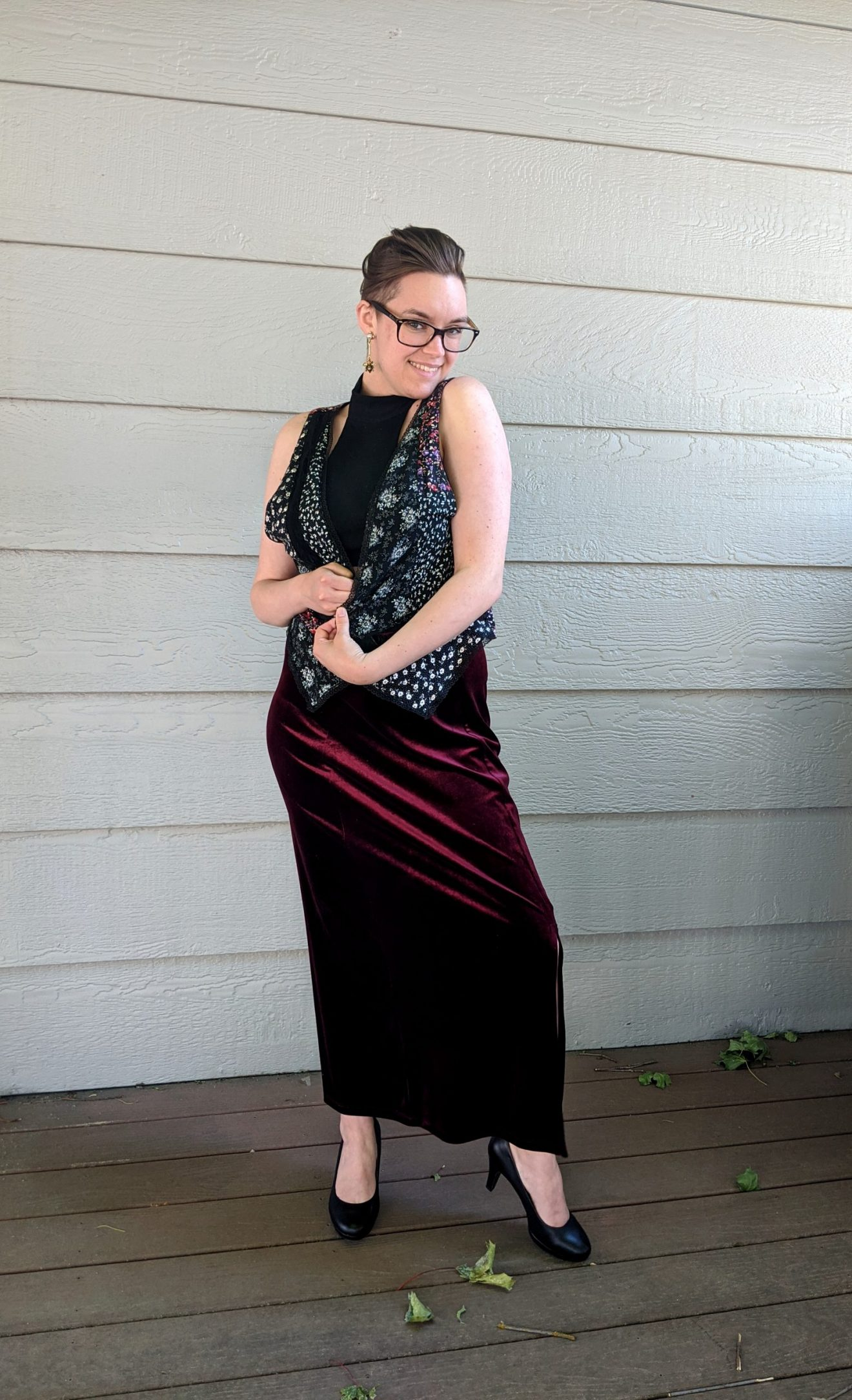 I Feared Waking Up Alissa Ackerman Story Behind The Cloth fashion blog vintage antique witchy bohemian outfit 7 scaled