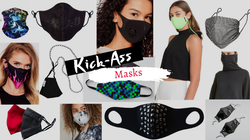 Kick Ass Fashion Masks for Everything from Preventing the Spread of COVID 19 to Hiding from Face Recognition Surveillance