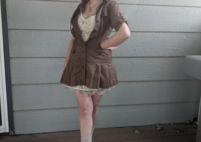 Trailblazing Alissa Ackerman Story Behind The Cloth fashion blog vintage antique adventurous outfit 10