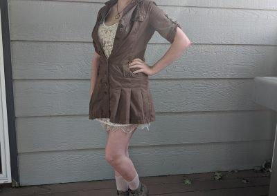 Trailblazing Alissa Ackerman Story Behind The Cloth fashion blog vintage antique adventurous outfit 11