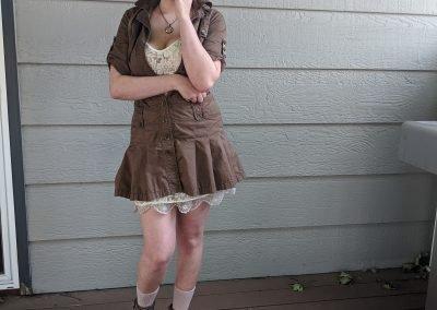 Trailblazing Alissa Ackerman Story Behind The Cloth fashion blog vintage antique adventurous outfit 13