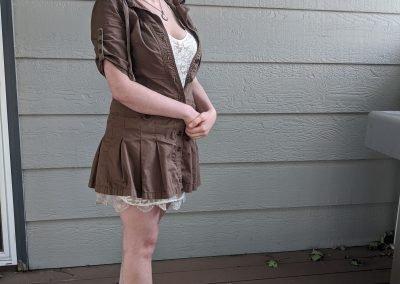 Trailblazing Alissa Ackerman Story Behind The Cloth fashion blog vintage antique adventurous outfit 14