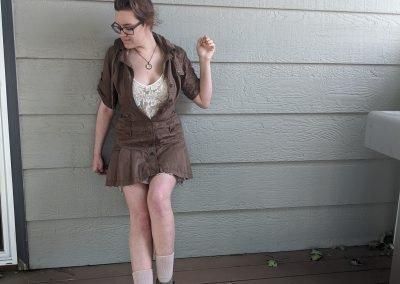 Trailblazing Alissa Ackerman Story Behind The Cloth fashion blog vintage antique adventurous outfit 15
